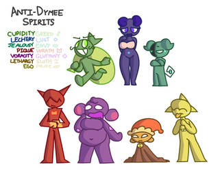 Anti-Dymee Spirits by chespien