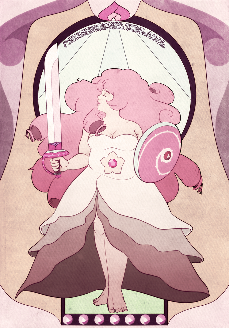 Rose Quartz by FreakxWannaxBe
