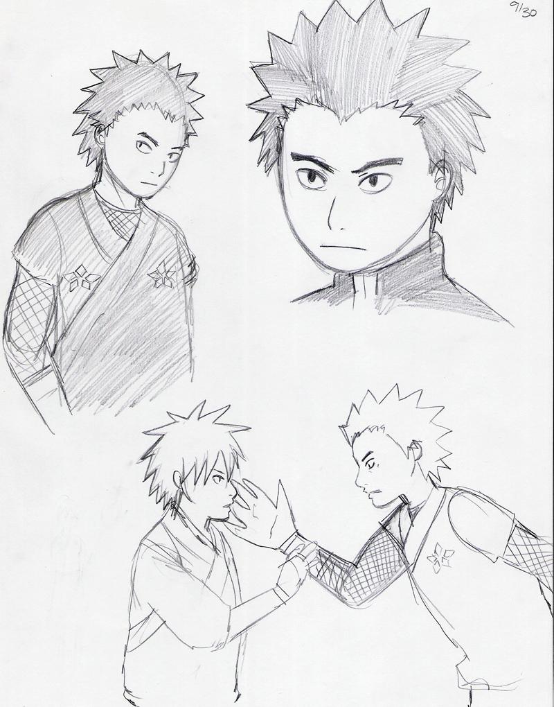 Kekkaishi Sketch 2 by jam2599