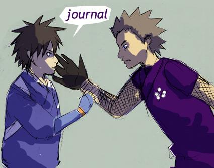 Journal Header: Kekkaishi by jam2599