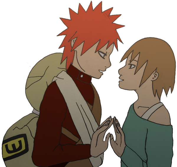 Gaara and Matsuri Sketch by jam2599 on DeviantArt Gaara And Matsuri Kiss