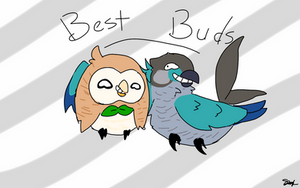 Best Buds by SpaceRoseKitty12