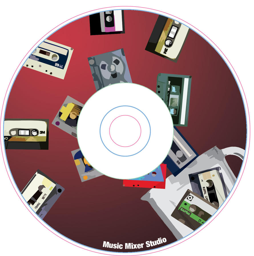 music mixer cd layout by inkpenpaper on DeviantArt