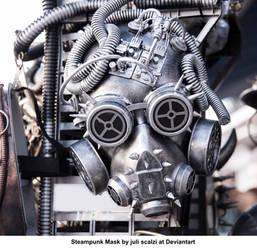 Steampunk Mask 4 by juli scalzi