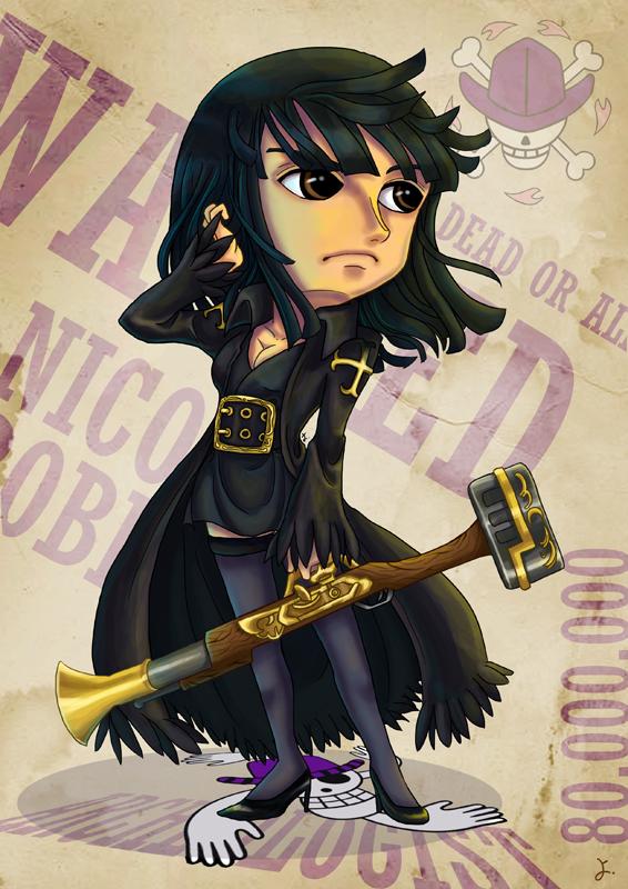 Nico Robin Fan Art - Strong World - 373.9KB