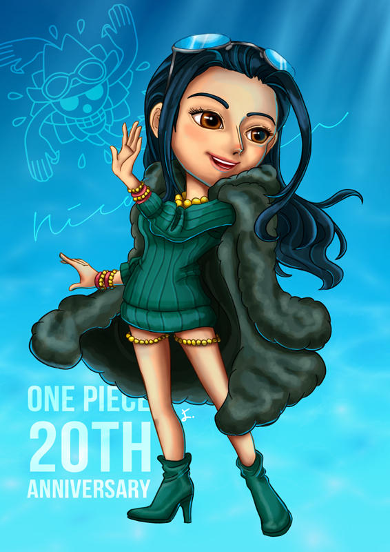 Robin One Piece 20th Anniversary