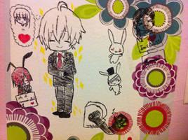 Random Inu x Boku doodles