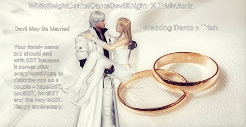 [whiteknightdante X Trishgloria's Wedding]