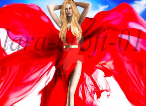 Trish Passionate Red