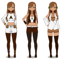 Felicity's Volume 4 Outfits by scxndxl