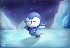 [Fan Art] Piplup by LittleLuly