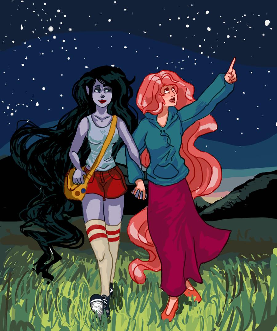Stargazing by Capu-Llama-Spark