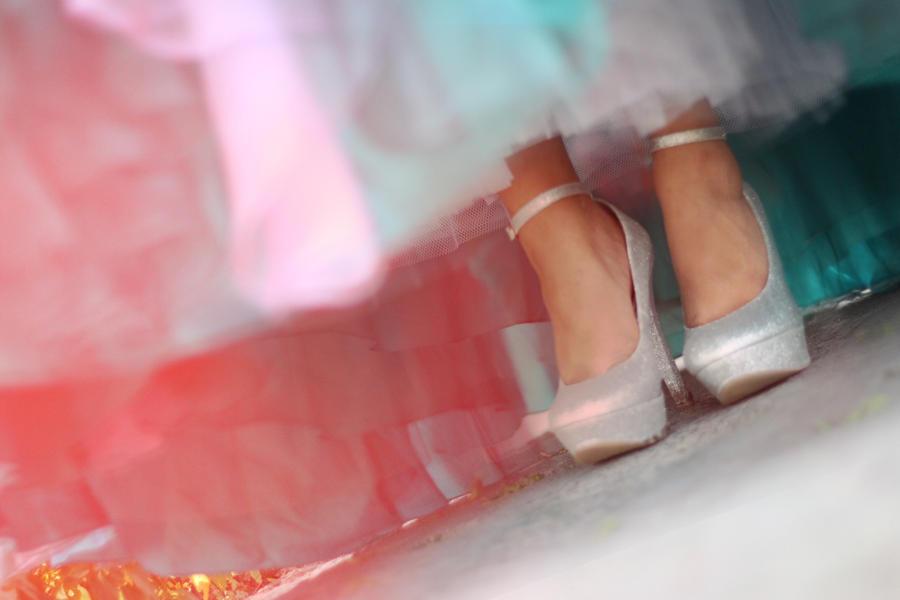 Glass Slippers by sirenamezzo