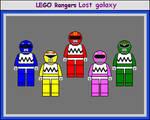 Lego Rangers Lost galaxy
