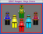 Lego Rangers Ninja Storm