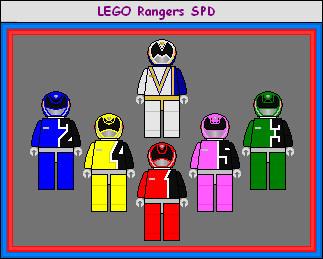 Lego Rangers SPD by Simonex90x on DeviantArt