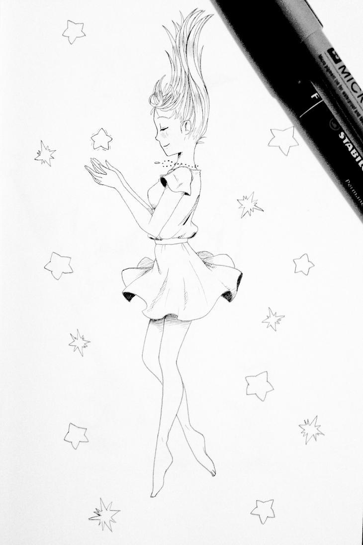Pen Doodle 1 by Sweetpea-Garden