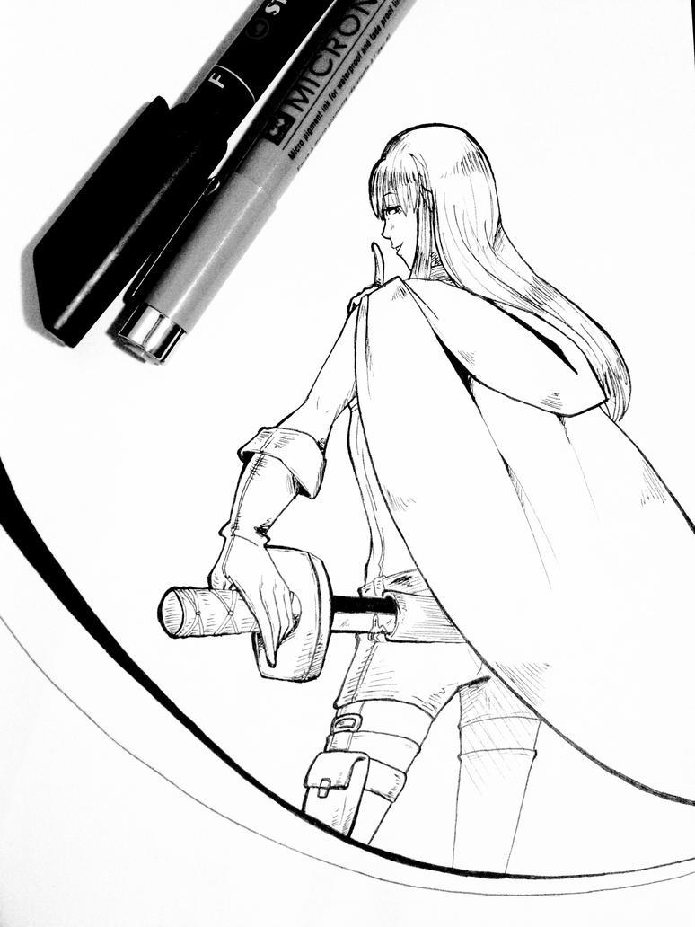 Pen Doodle 2 by Sweetpea-Garden