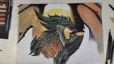 Deathwing Pastels by art-dude