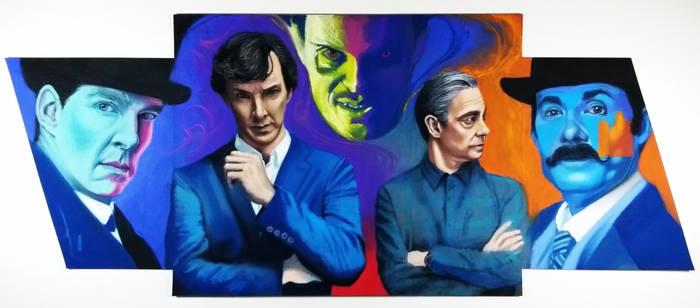 Sherlock Watson and Moriaty