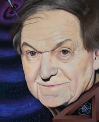 Nobel prize winner Sir Roger Penrose.