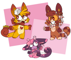 [Charminis] Food squad adopts (OPEN)