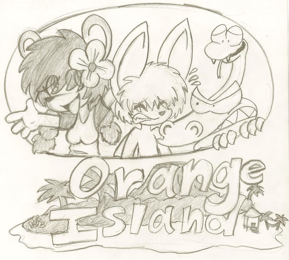 Orange Island Cover by evilmeep