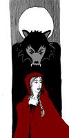 Inktober 16-15 Red Riding Hood