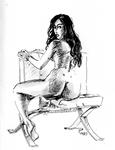201017 Inktober Sitting hips ...