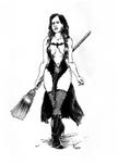 241017 Inktober-Witch