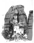 Inktober 2018/8 Monastery