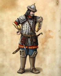 Oleg - Kislevite Warrior
