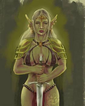 Elfgirl Swordbearer