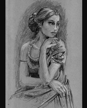 Vintage portrait study