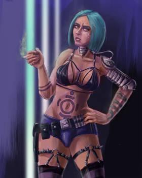 Sassy Cyberpunk