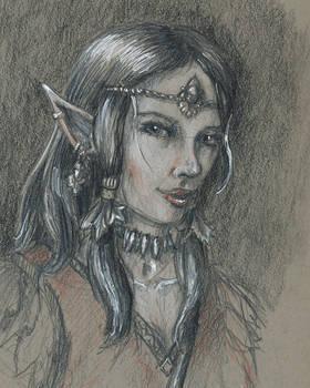 Elf Druid Portrait