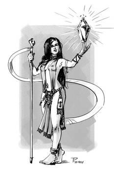 Inktober 211001 Sorceress
