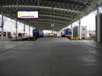 Andenes estacion Mar del Plata