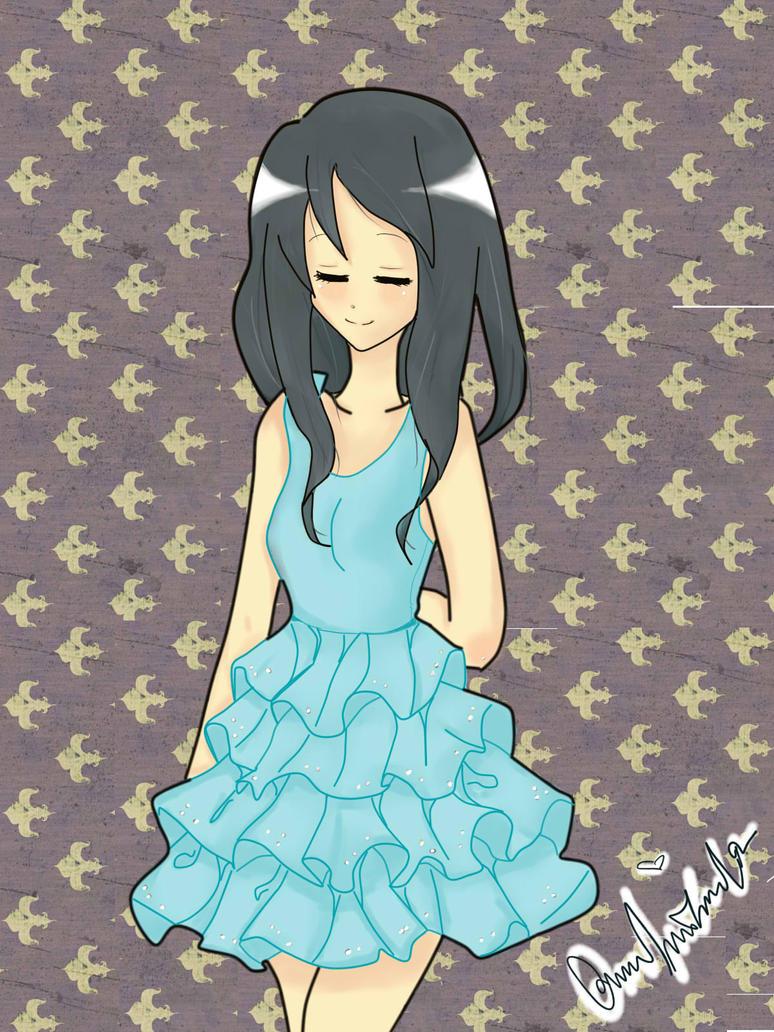 blue dress by Otromeru