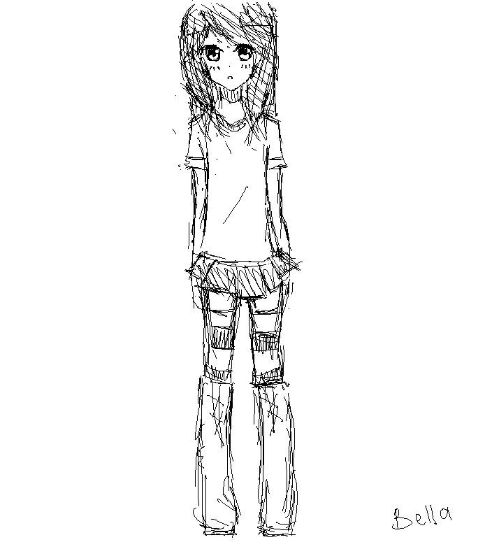 Random sketch by Otromeru