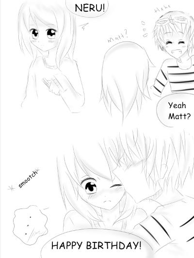 Neru's birthday part 1 by Otromeru