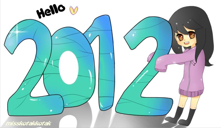 Hello 2012 by Otromeru