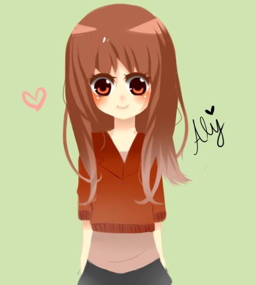 Little cute Aly by Otromeru