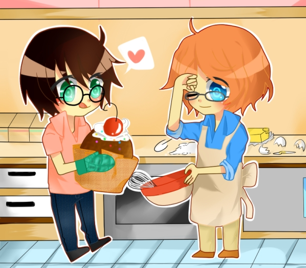 Commission-Giant Cupcake by Otromeru