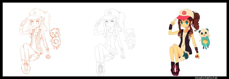 In the making of: Hilda by Otromeru