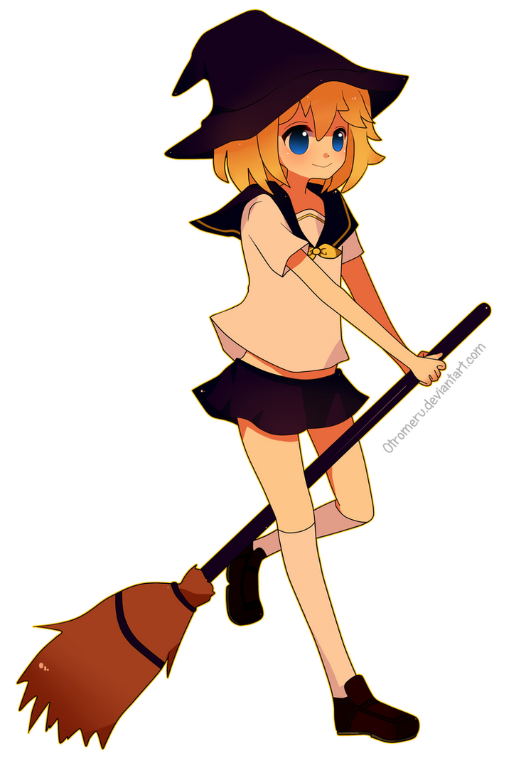 Lil witch by Otromeru