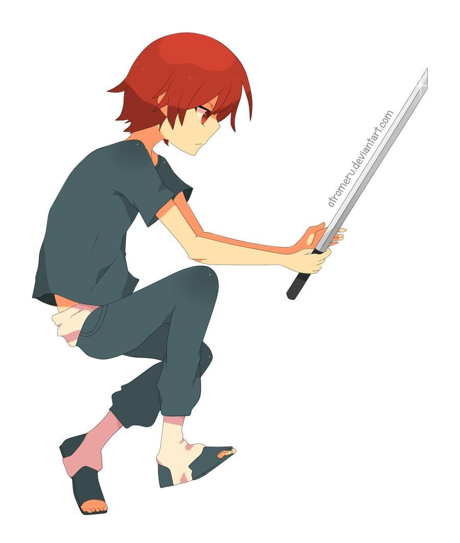Sword practice by Otromeru