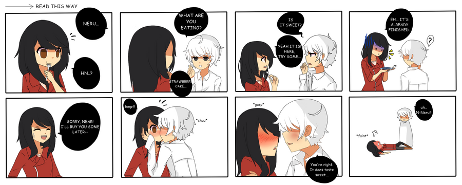 Sweet kiss by Otromeru