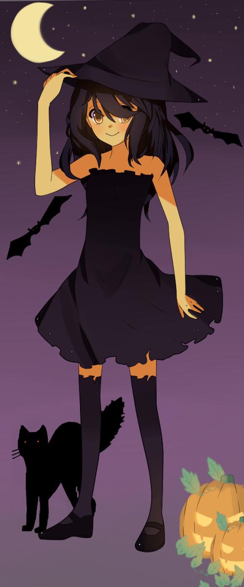 .:Halloween witch:. by Otromeru