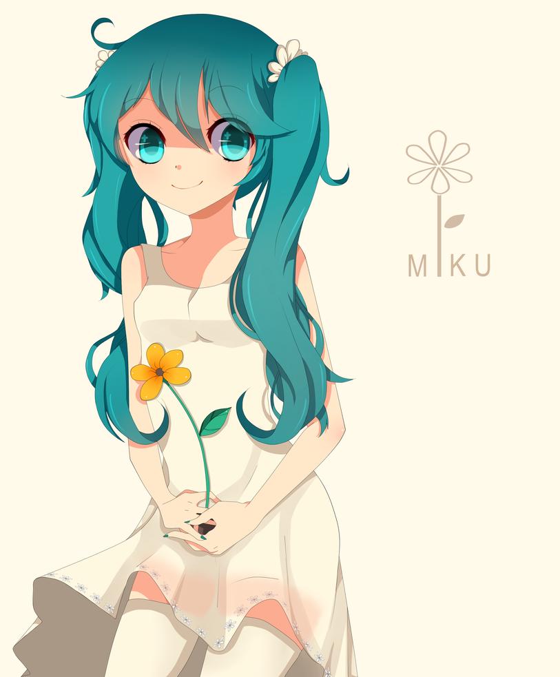 Miku by Otromeru
